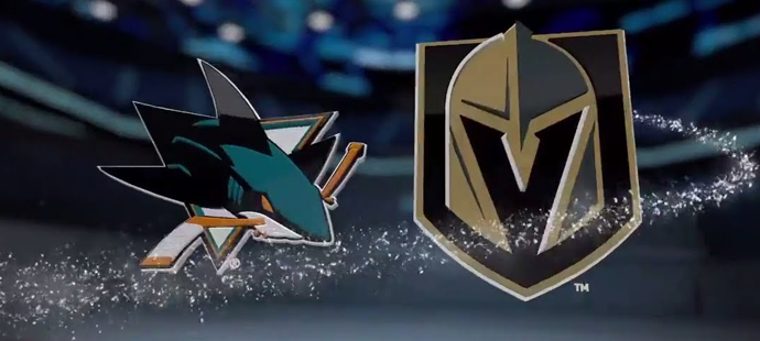 Video: San Jose Sharks vs. Vegas Golden Knights obrázek