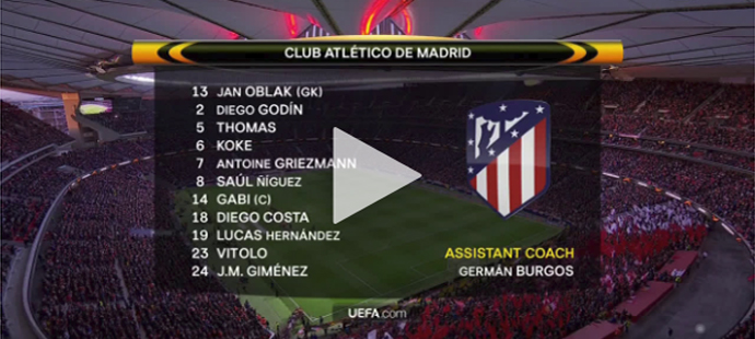 Atlético Madrid - Arsenal