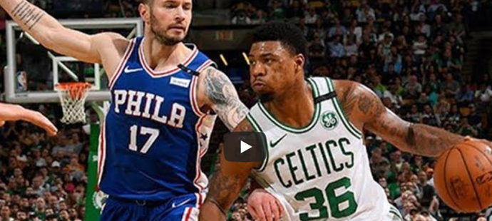 Sestřih: Boston : Philadelphia (NBA)
